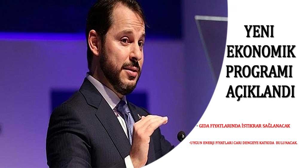 Berat Albayrak, Yeni Ekonomik Programı (YEP)'i Açıkladı!