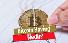 Bitcoin Halving Nedir?