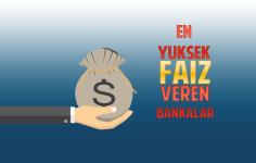 En Yüksek Faiz Veren Banka Hangisidir?