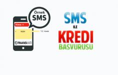 SMS İle Kredi Başvurusu Nasıl Yapılır?